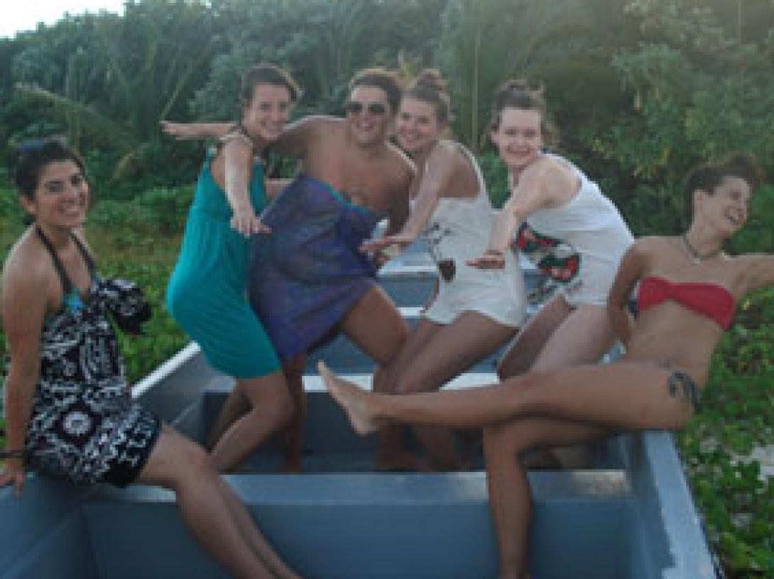 Anina S auf Fidschi-Inseln